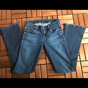 7 for all man kind Kaylie slim boot cut  size 25